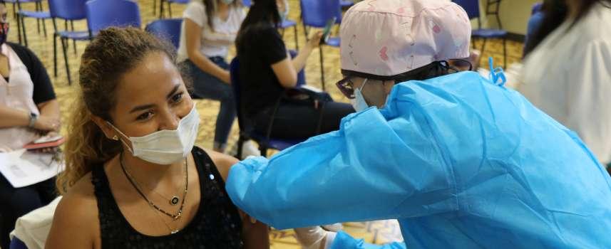 El 3 de septiembre habrá vacunación contra el Covid 19 para estudiantes de la Universidad von Humboldt